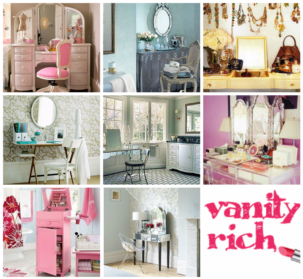 Getting Beautified :: Vanity Table Inspiration | Vanity Rich